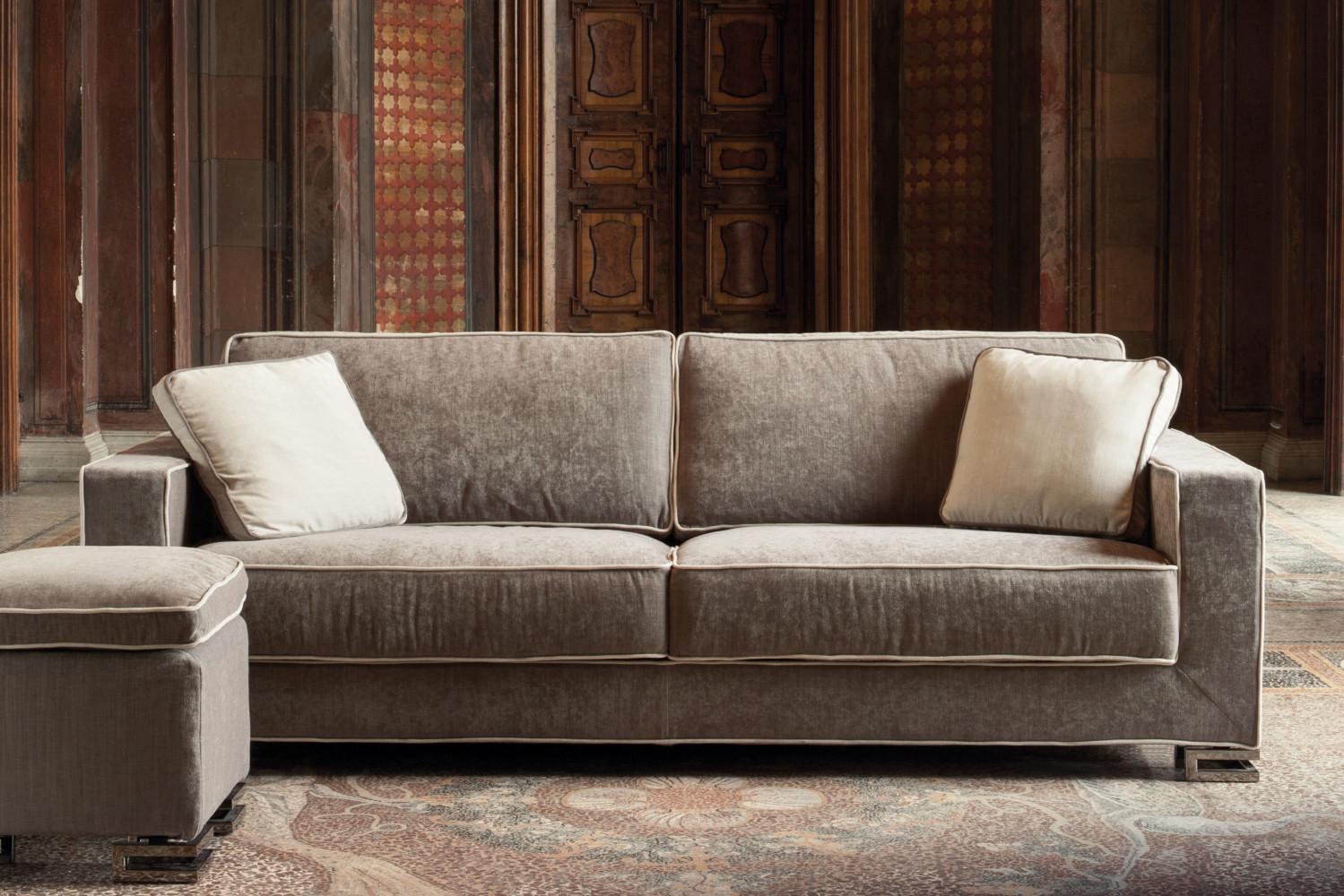Cuscini quadrati con bottone garrison - Cuscini quadrati per divani ...