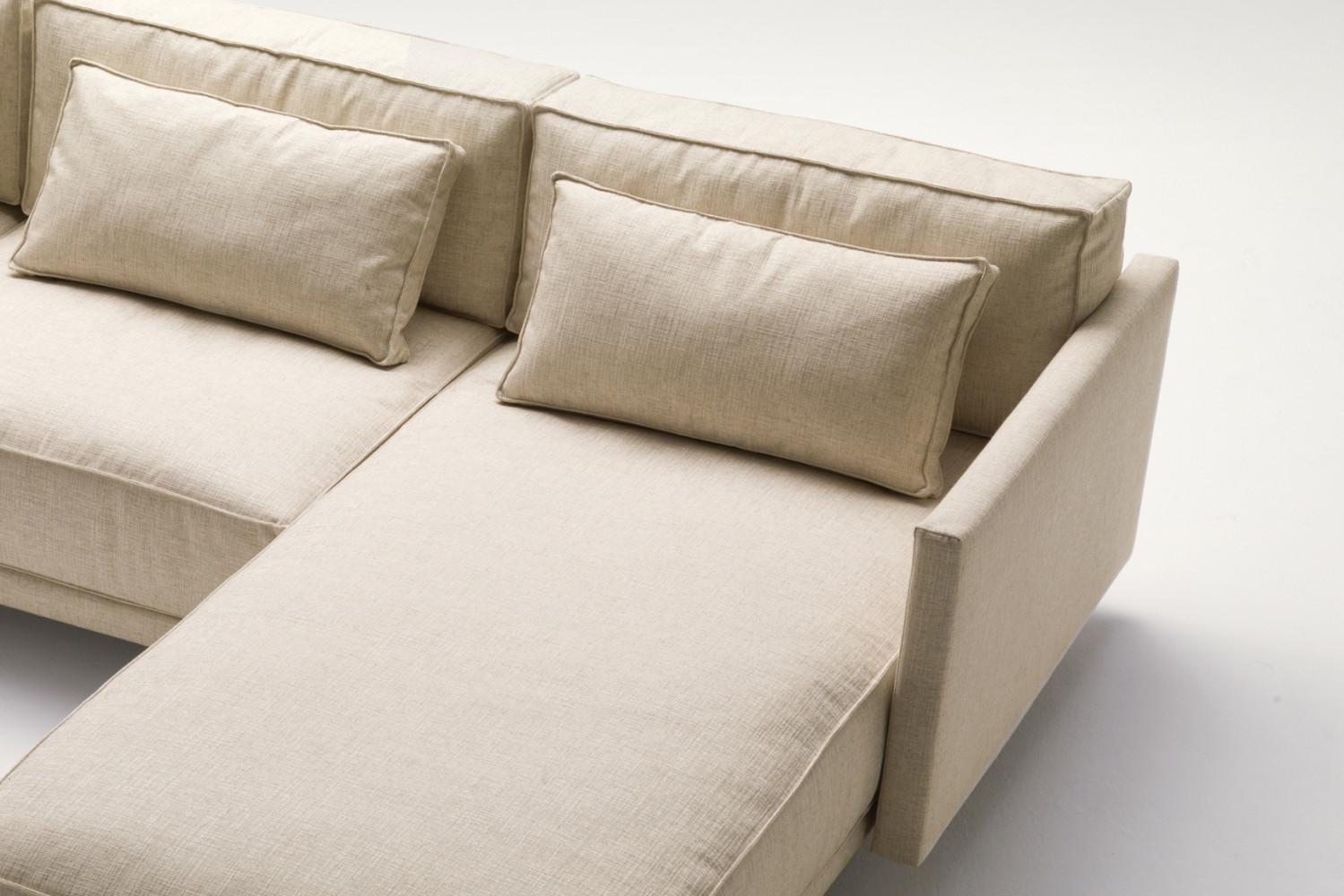 Cuscini di schienale per divano in piuma dennis for Divano cuscini