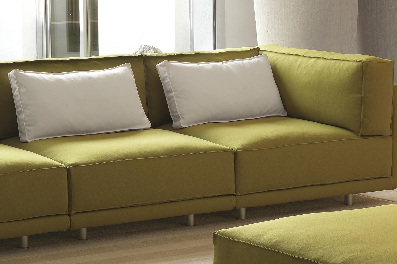 Cuscini di schienale per divano in piuma dennis - Schienale divano ...