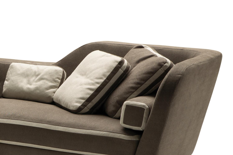 Cuscini in tessuto per divano Jeremie