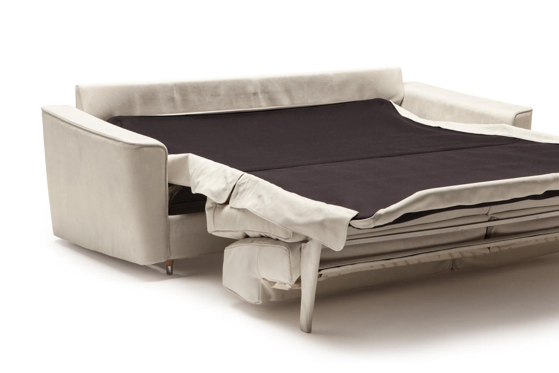 divano letto matrimoniale in pelle petrucciani. Black Bedroom Furniture Sets. Home Design Ideas