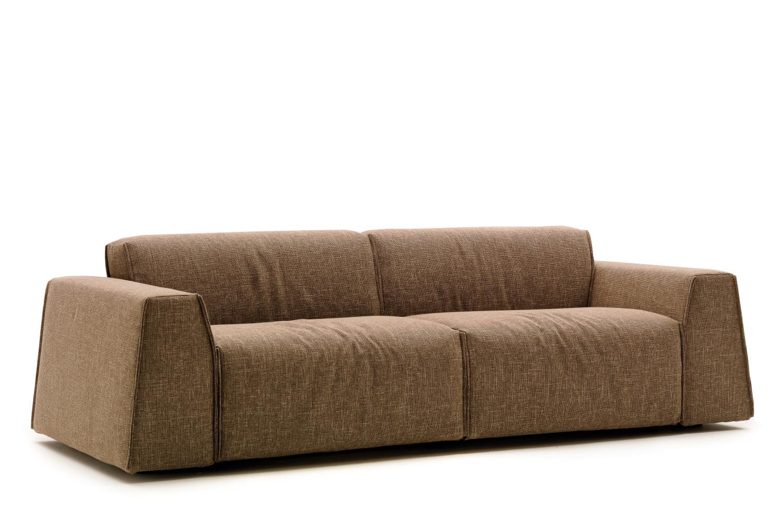 divano con schienale basso parker