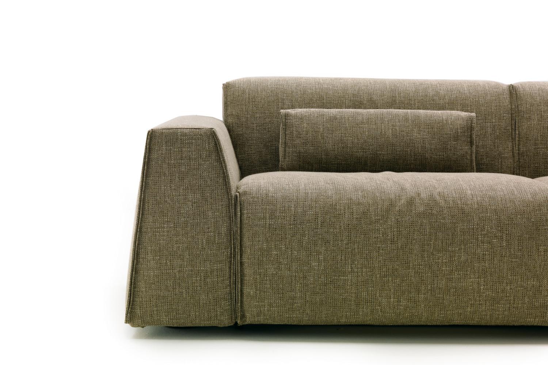 Divano con schienale basso parker - Poggiatesta per divano ...