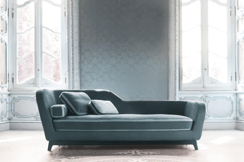 Divano dormeuse moderno jeremie for Divano 3 posti in tessuto moderno
