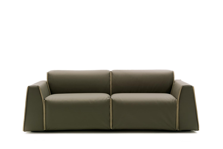 Divano letto 3 posti di design parker - Un divano per dodici ...