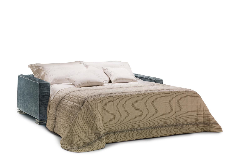 Divano letto in piuma garrison - Divano letto 160 cm ...