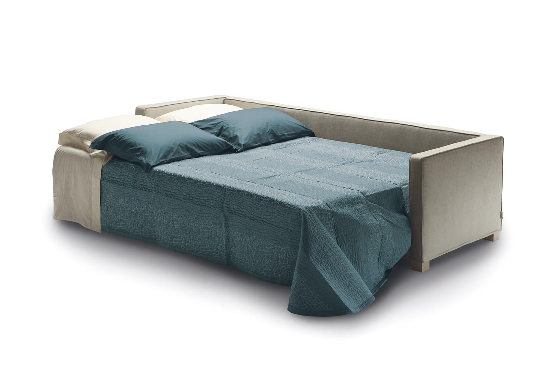 Divano letto dormita trasversale andersen - Ingombro letto matrimoniale ...