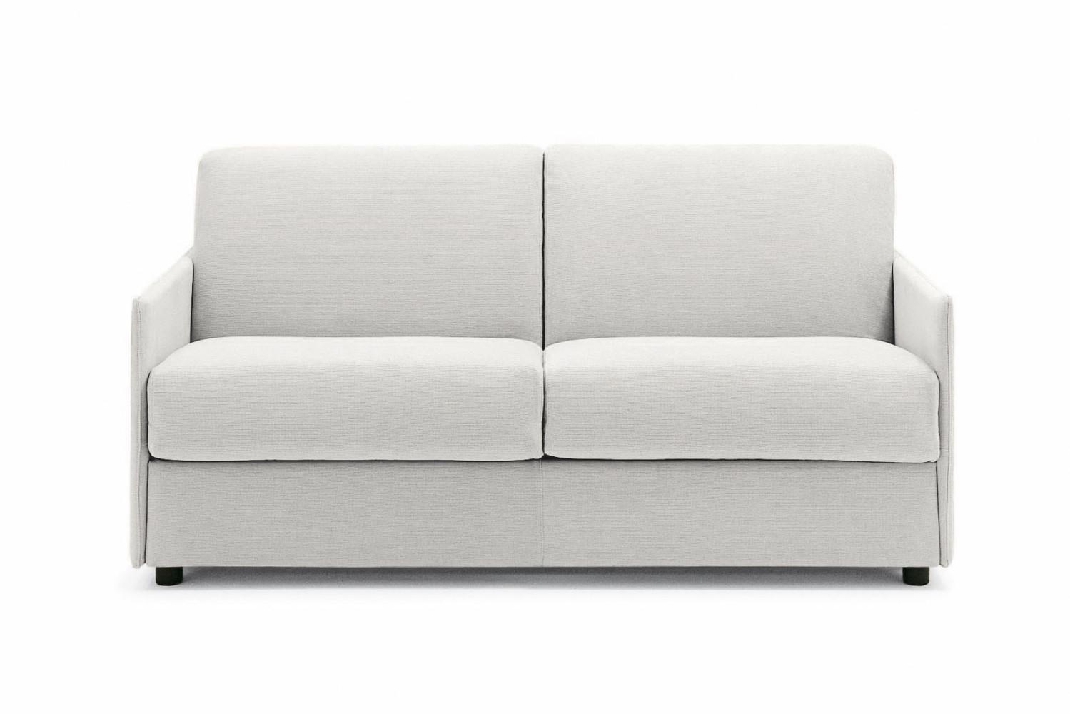 Divano letto con braccioli sottili stan for Divano 80 cm