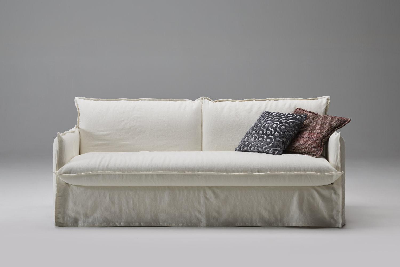 Divano letto comodo per uso quotidiano clarke for Divano letto shabby chic