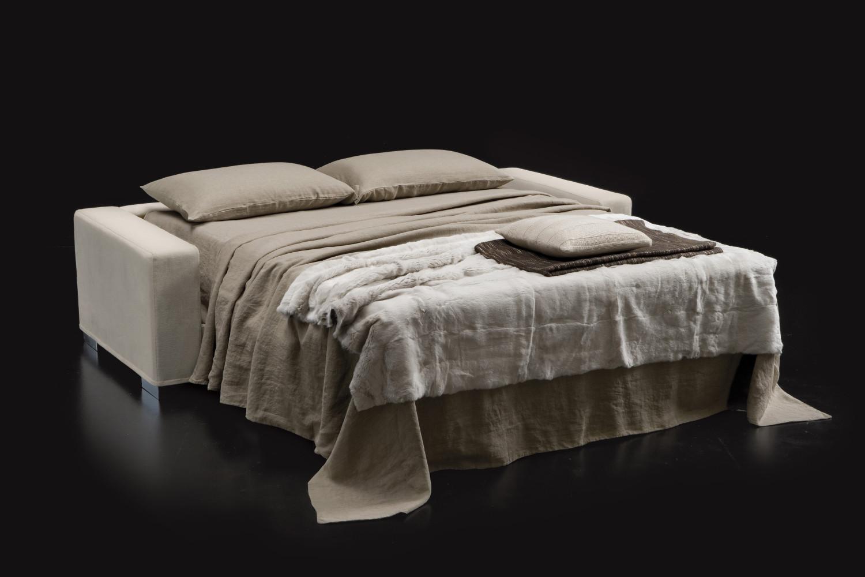 divano letto con penisola contenitore duke - Angolo Tessuto Divano Letto Milano