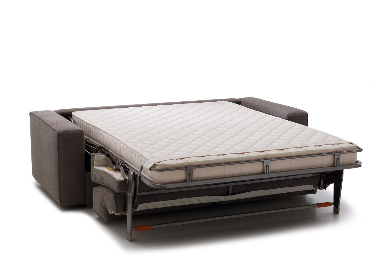 Divano letto con materasso 180x200 prince for Divano letto con materasso