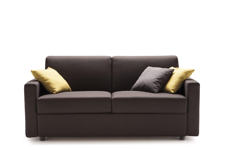 Divano letto matrimoniale con materasso alto jan - Un divano per dodici ...