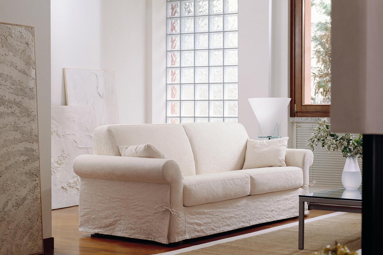 divano letto classico in tessuto richard