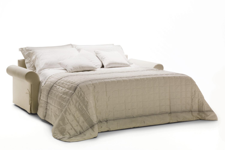 Divano letto classico in tessuto richard for Divano letto 1 piazza