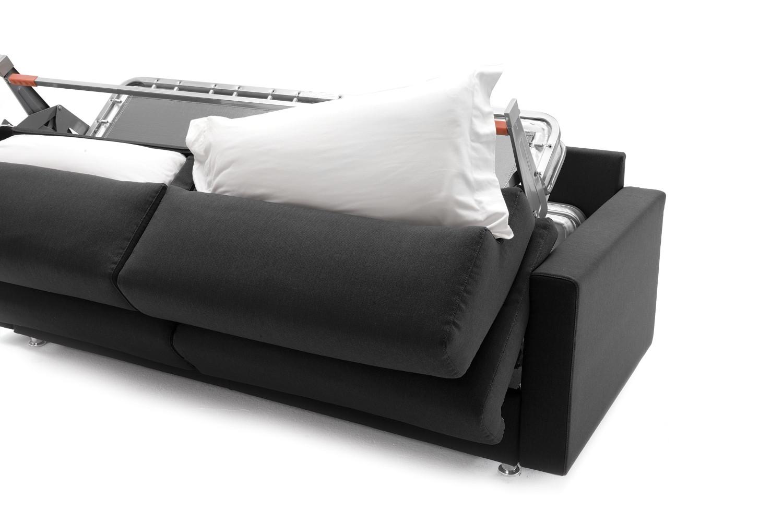 Divano letto con materasso alto 18 cm ellis - Letto a divano ...