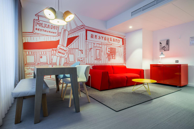 Divano letto 3 posti di design parker - Divano letto hotel ...