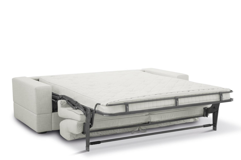 Divano letto in tessuto sfoderabile brian - Divano profondo 60 cm ...