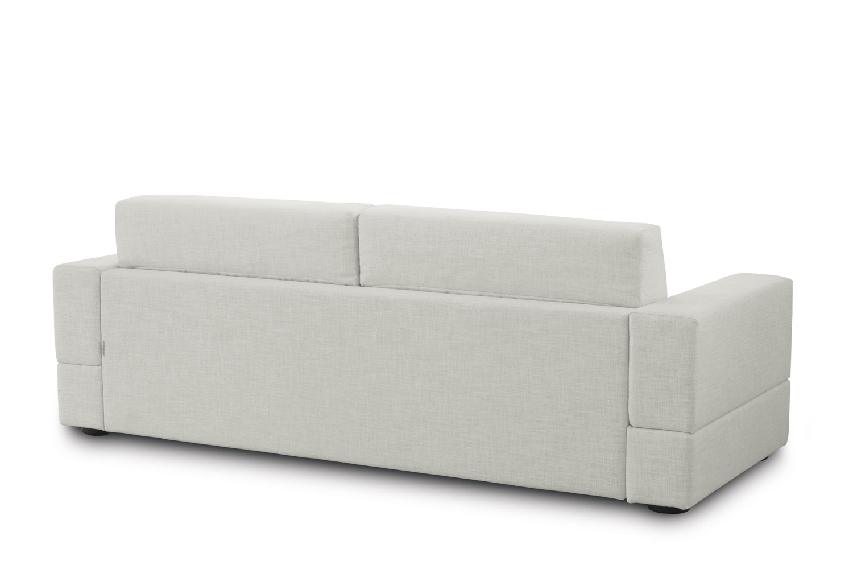 Divano letto in tessuto sfoderabile brian - Divano letto retro ...