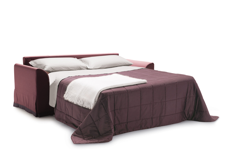 Divano letto con materasso alto 18 cm ellis for Letto futon ikea