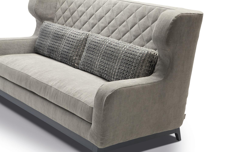 Divano con schienale alto morgan - Cuscini schienale divano ...