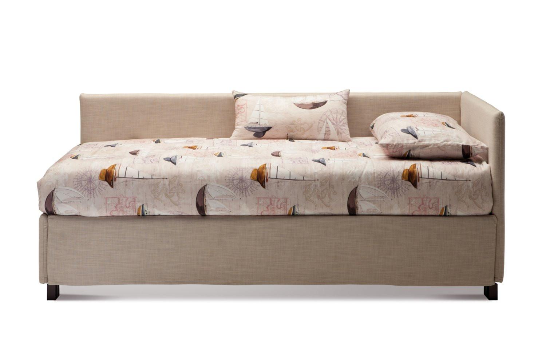letto singolo con sponda laterale imbottita antigua un letto per ...