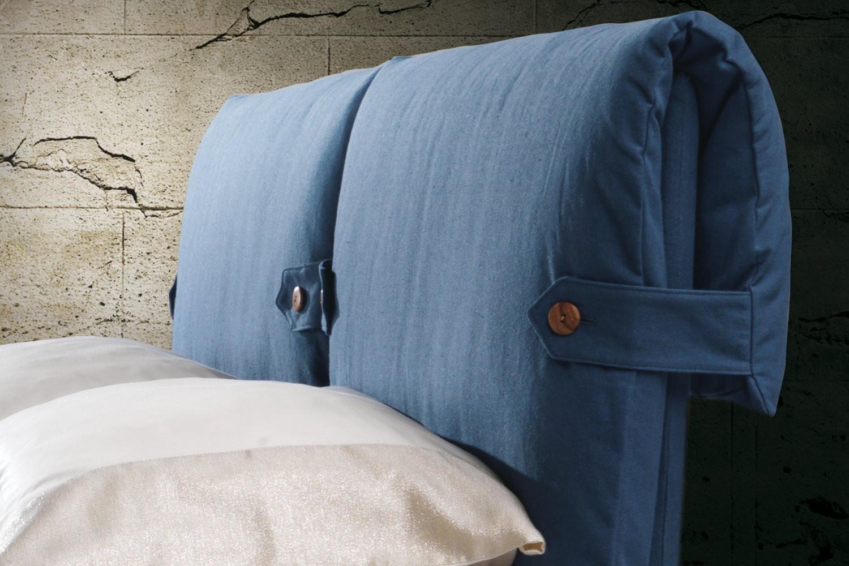 Letto con testiera a due cuscini marianne for Ikea cuscini letto