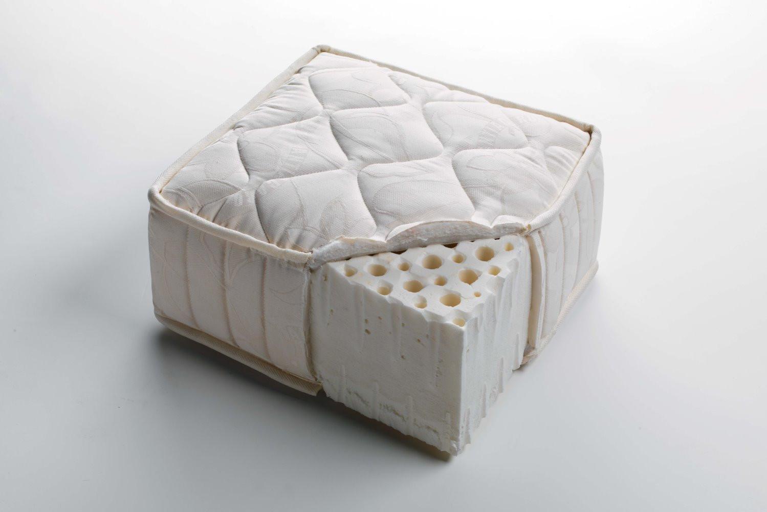 Materasso in lattice a zone differenziate latex - Materasso lattice letto contenitore ...