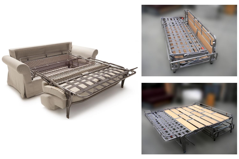 Reti Da Letto Metalliche : Poltrona letto trapuntata douglas