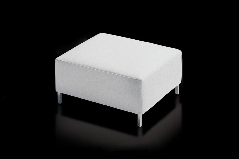Pouf poggiapiedi bianco james - Pouf camera da letto ...