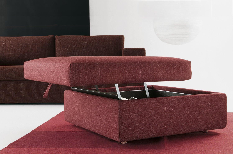 Pouf contenitore con vassoio pat - Pouf letto poltrone e sofa ...