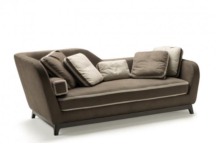Dormeuse divano letto di design Jeremie.
