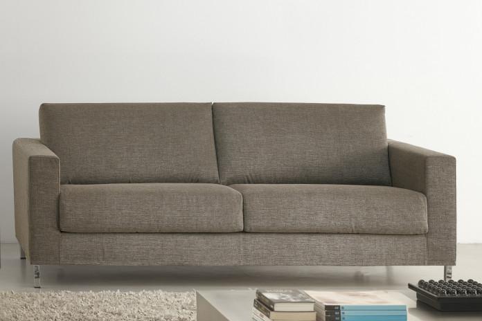 Il divano James è disponibile nel modello lineare a 2 o 3 posti