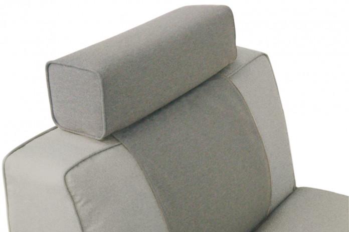 Cuscino poggiatesta per divano - modello con profilo