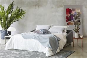 Divano trasformabile in letto matrimoniale Vivien Bicolore