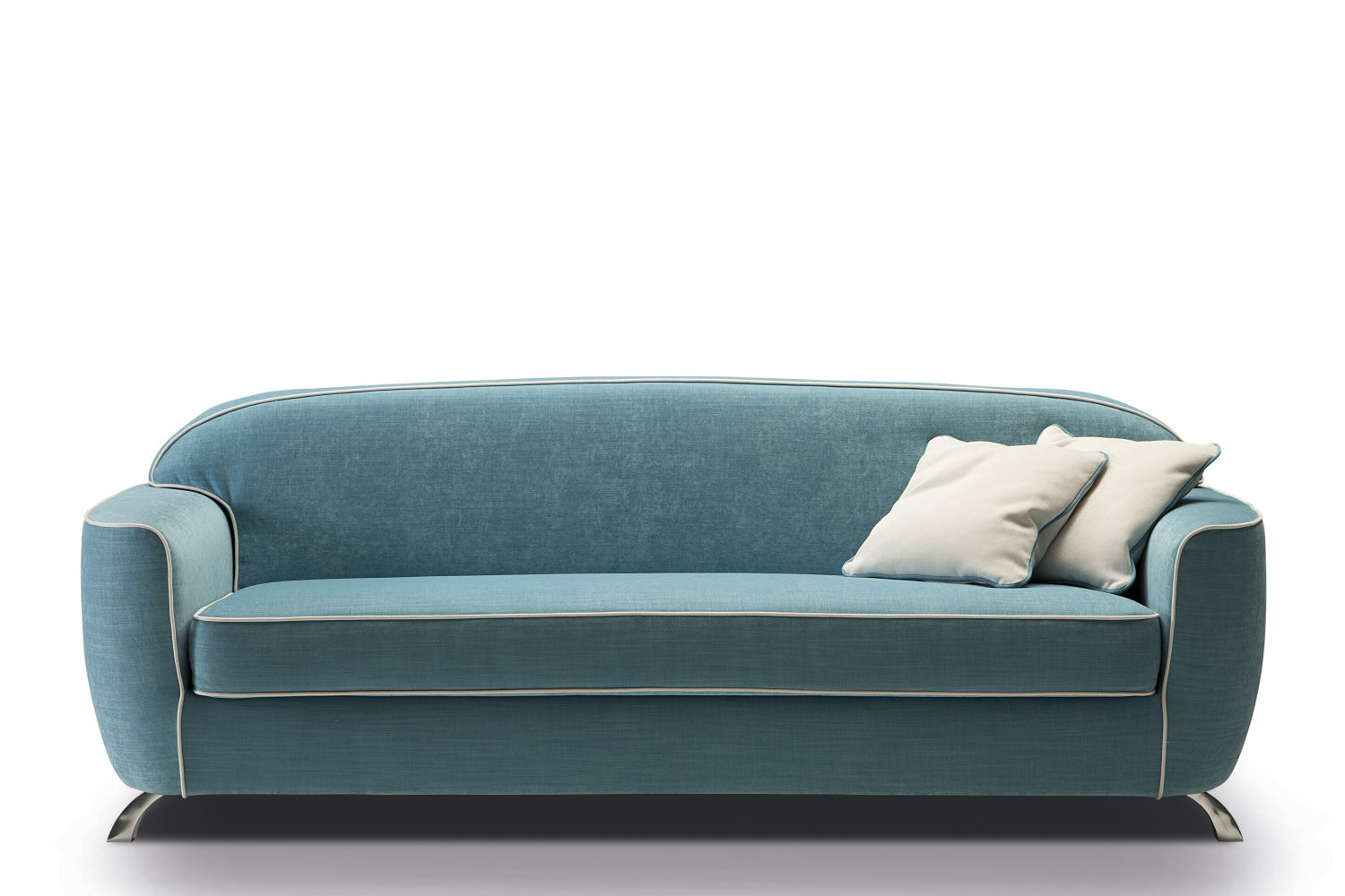 Charles vintage sofa with a 50s style for Canape annee 50