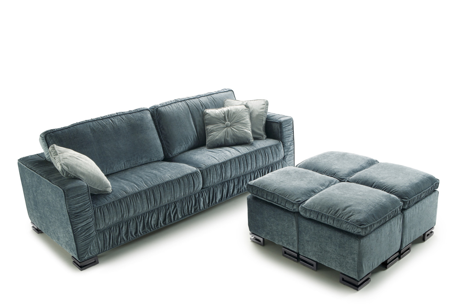 Garrison Sofa With Ruched Cover
