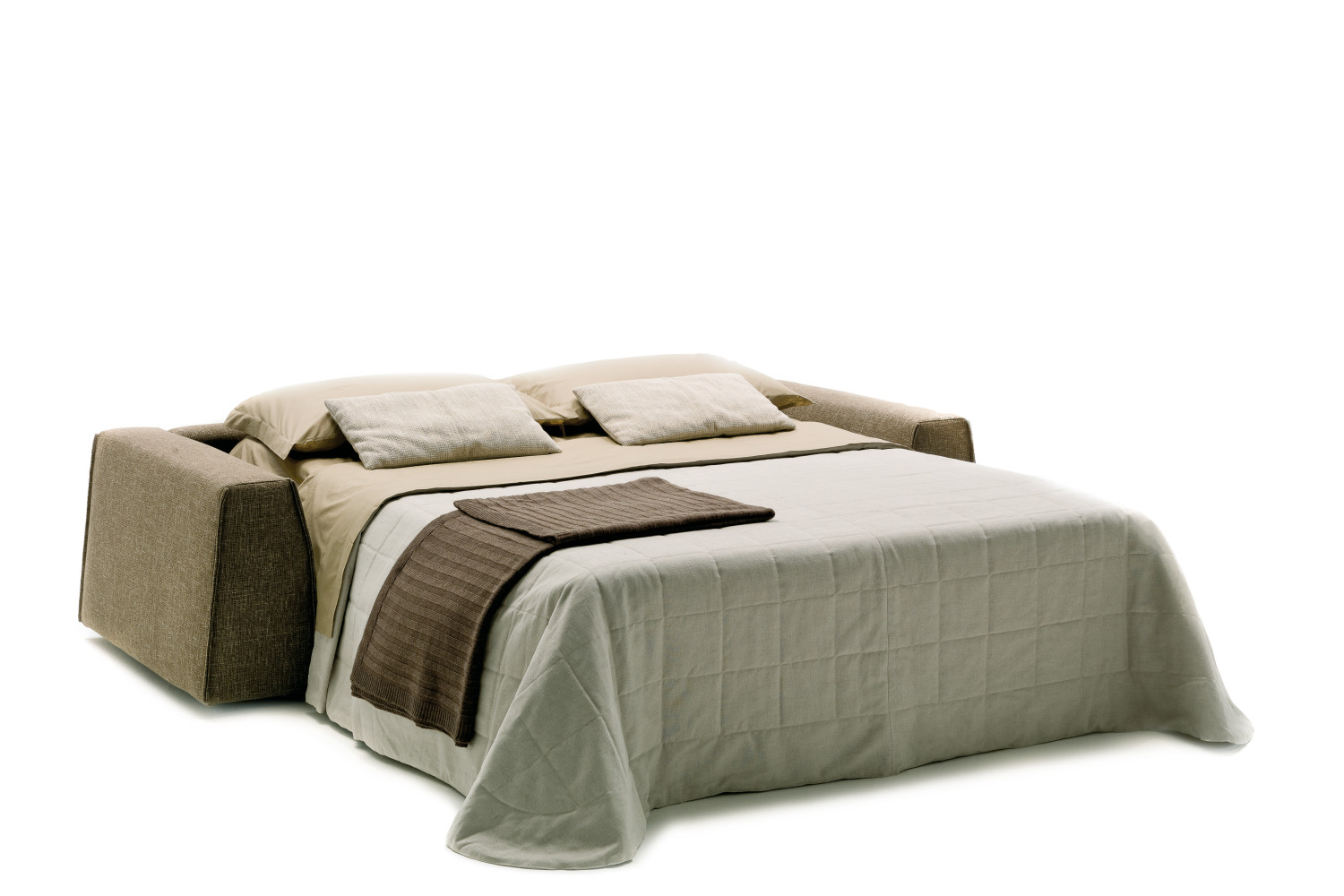 Parker sofa bed with low backrest - Divano letto design low cost ...