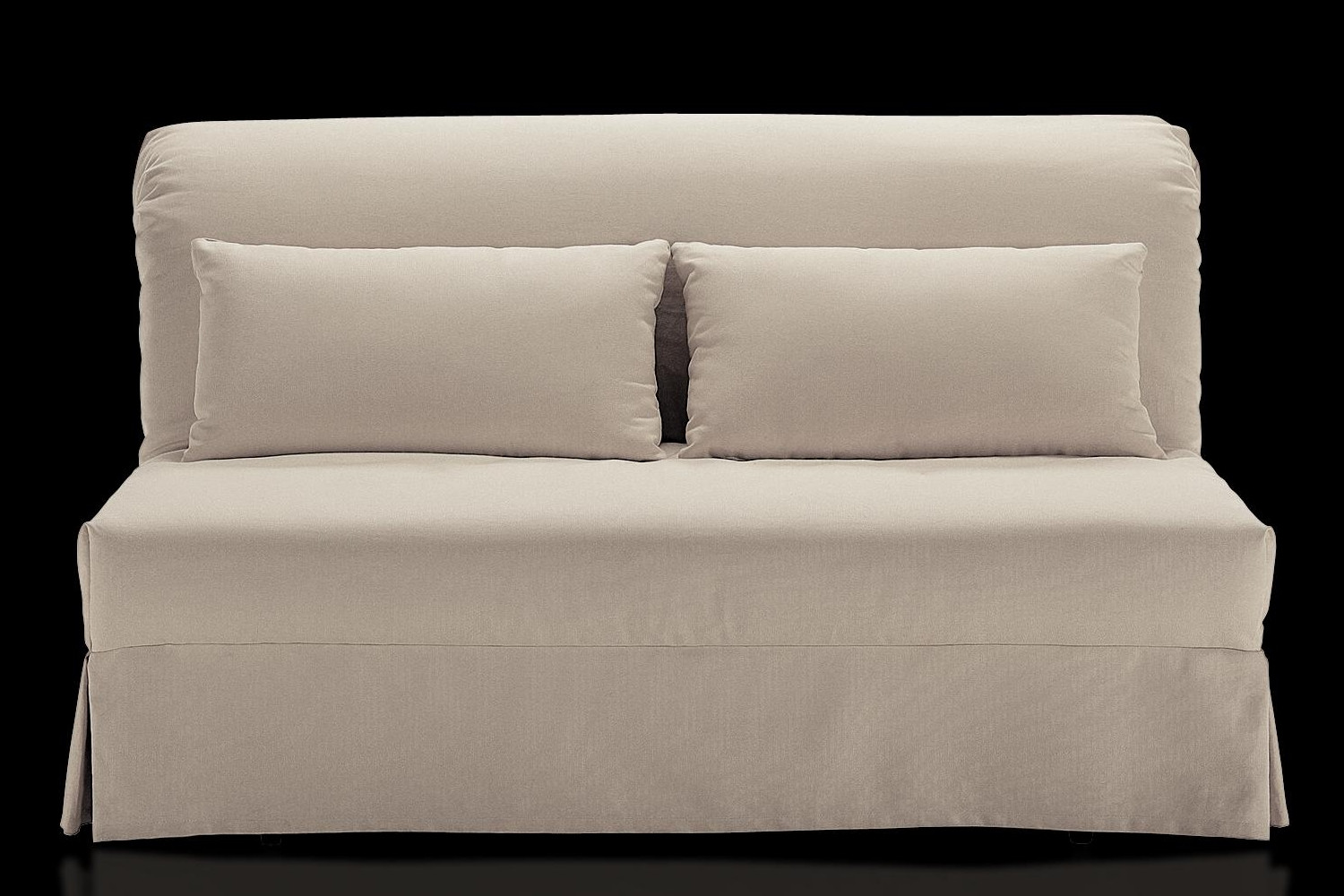 Spencer folding sofa bed with skirted cover for Divani a letto ikea
