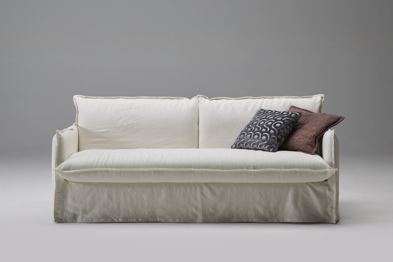 Shabby Chic E Moderno.Clarke Xl Modern Shabby Chic Sofa Bed