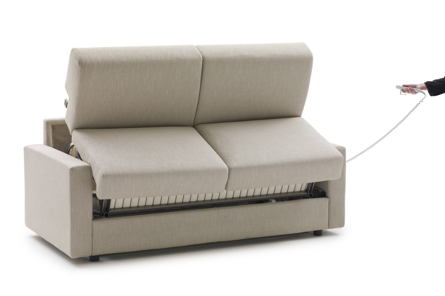 lampo motion sofa bed  motorised opening system