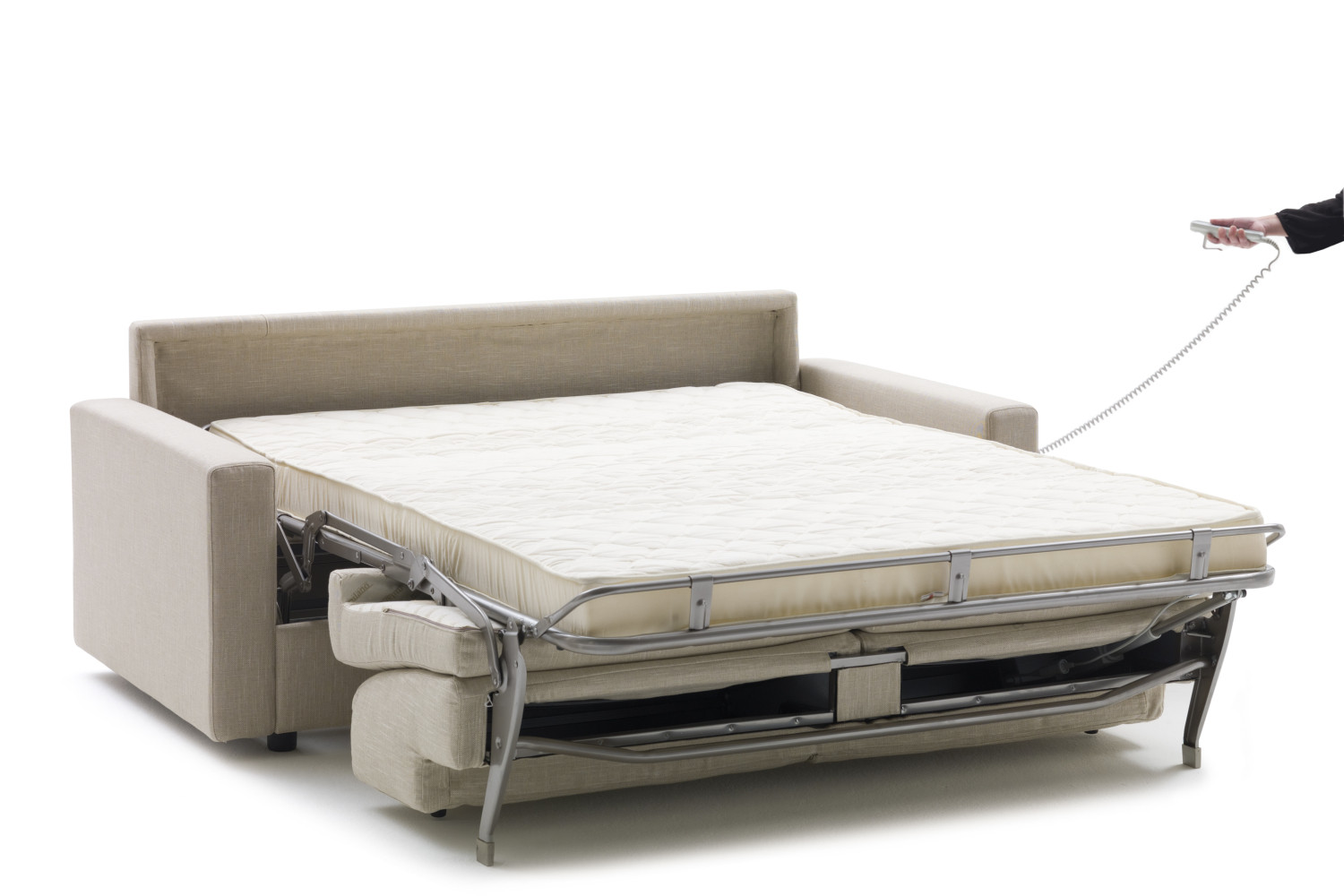 Lampo motion sofa bed with motorised opening system for Divan furniture