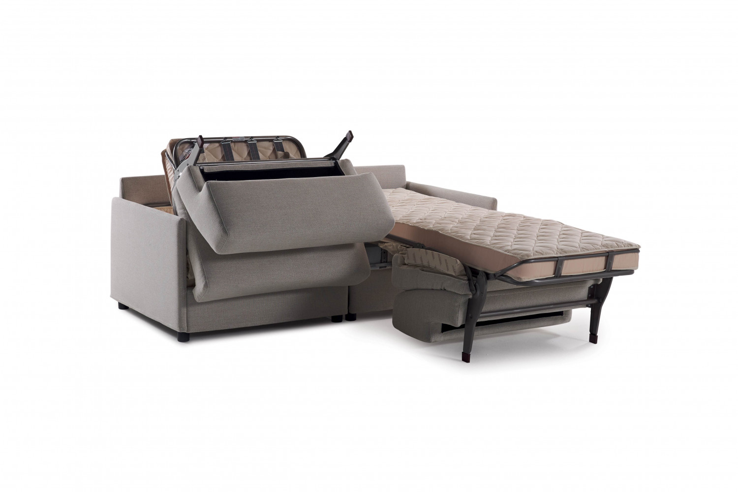 Double Sofa Bed With Two Single Beds