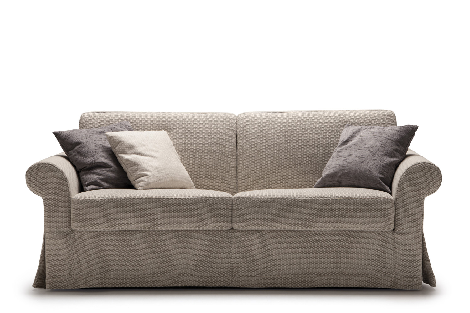 Ellis sofa bed with high mattress for Divano letto 180 cm