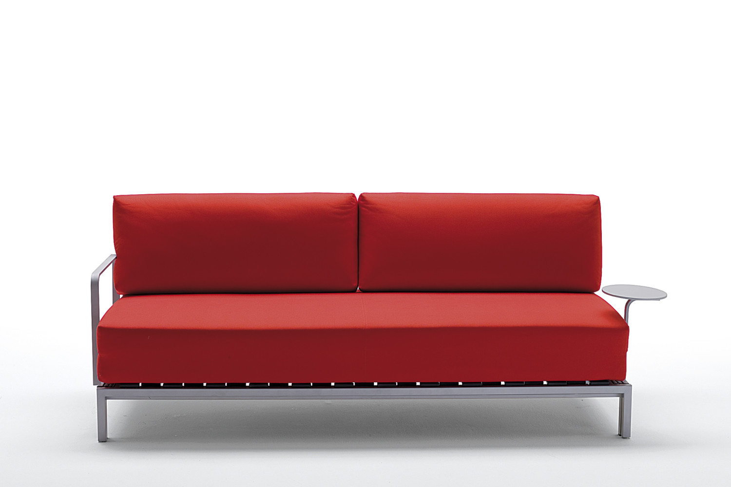 Willy side sofa bed with metal armrest - Divano letto b b italia ...