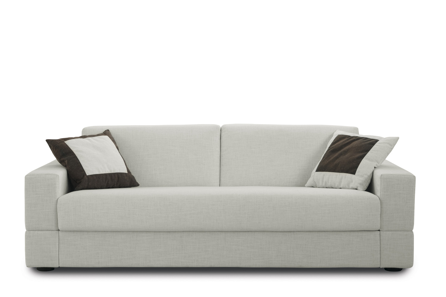 brian is a 2 or 3-seater sofa bed with sprung mattress, compact, ROU9A5NN