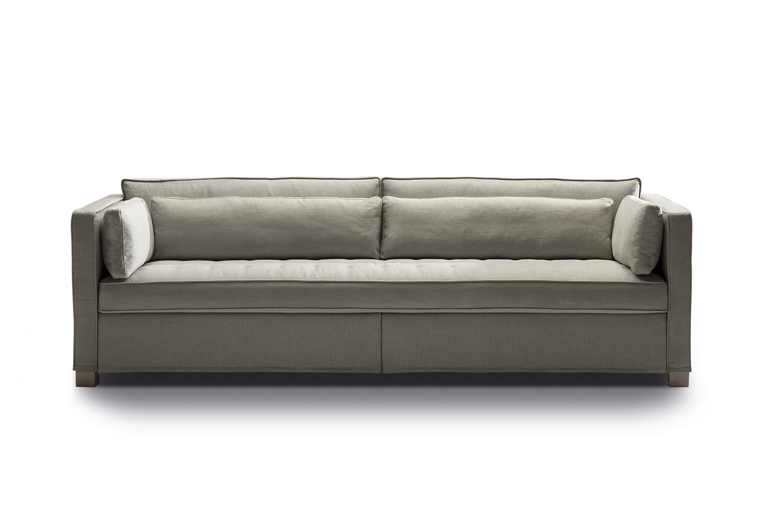 Andersen sofa bed with one piece seat for Andersen leather chaise sectional