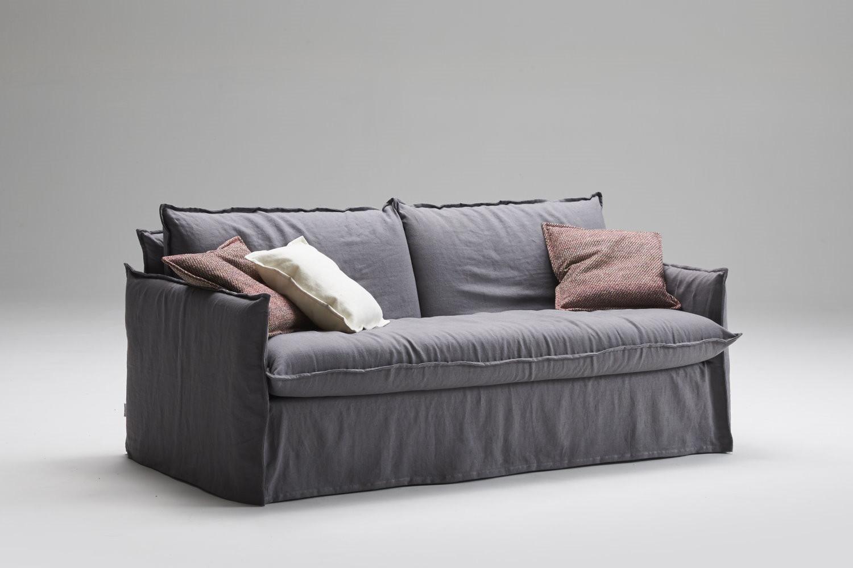 Clarke shabby chic sofa with skirt