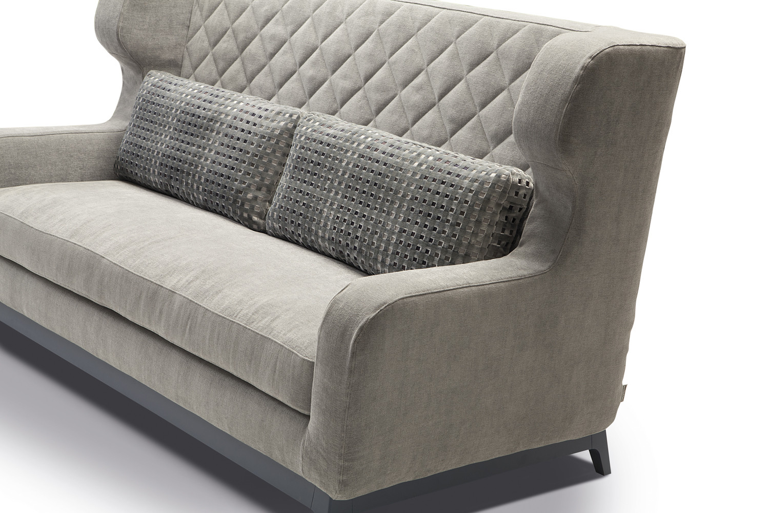 Bed chair backrest - Morgan Sofa Bed With High Quilted Backrest