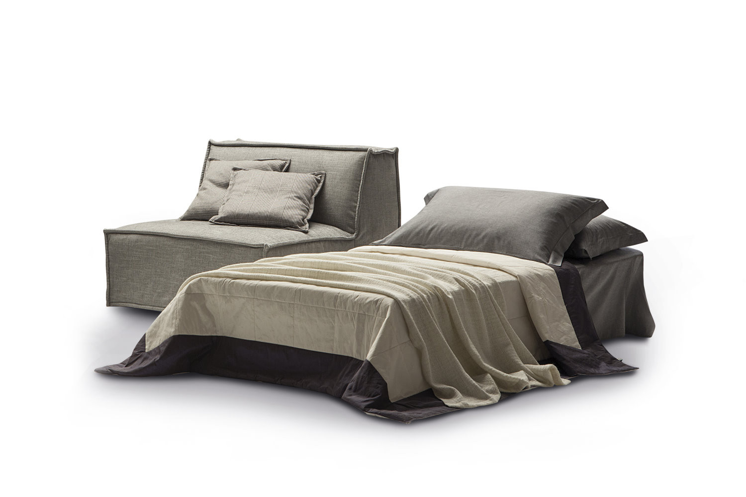 Tommy single folding armchair bed