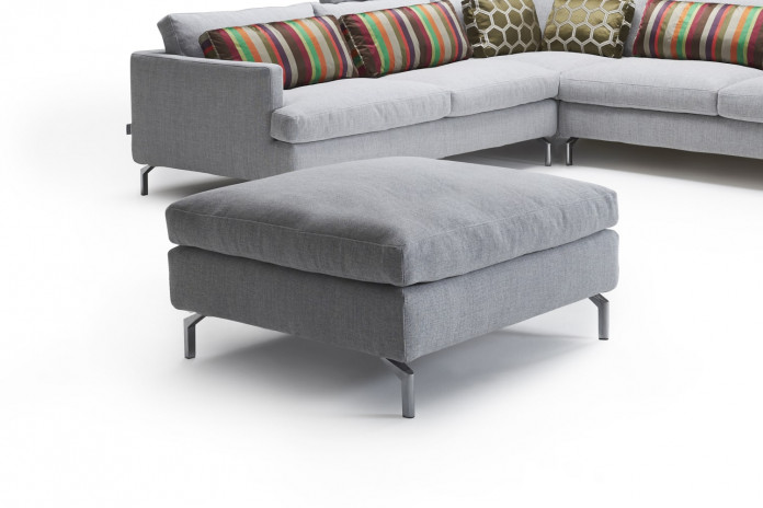 Large square or rectangular sofa footstool Dave